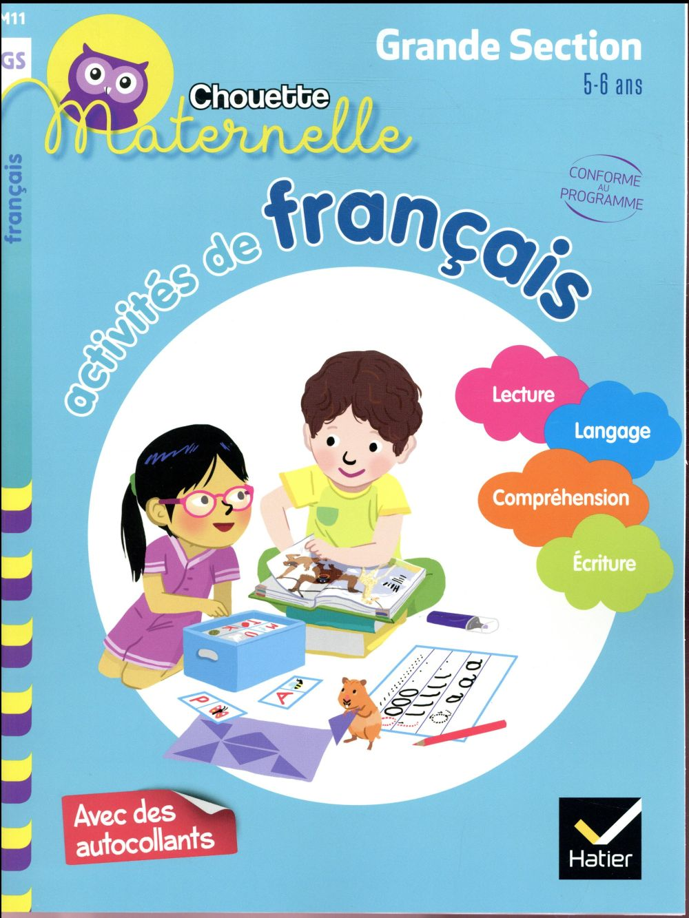 ACTIVITES DE FRANCAIS GRANDE SECTION